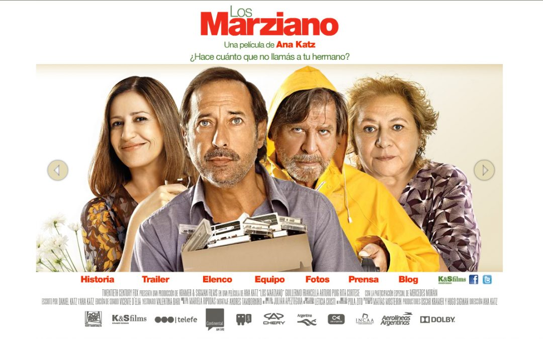 """TALLER CINE DE MUJERES: """"LOS MARZIANO"""" (2011)"""